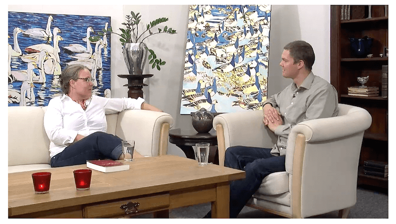 Interview på Familiekanalen md Gitte Sander