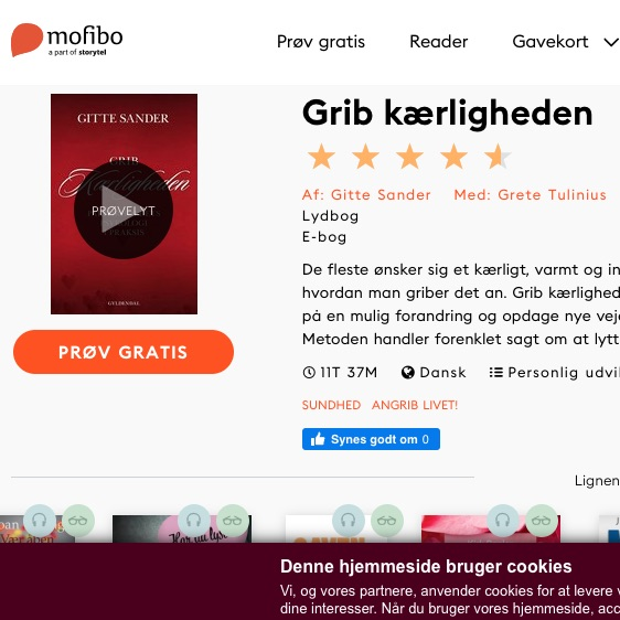 parforhold bog mofibo